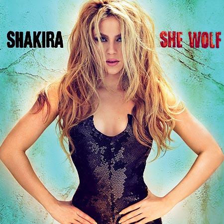 Shakira - She Wolf Album Cover
