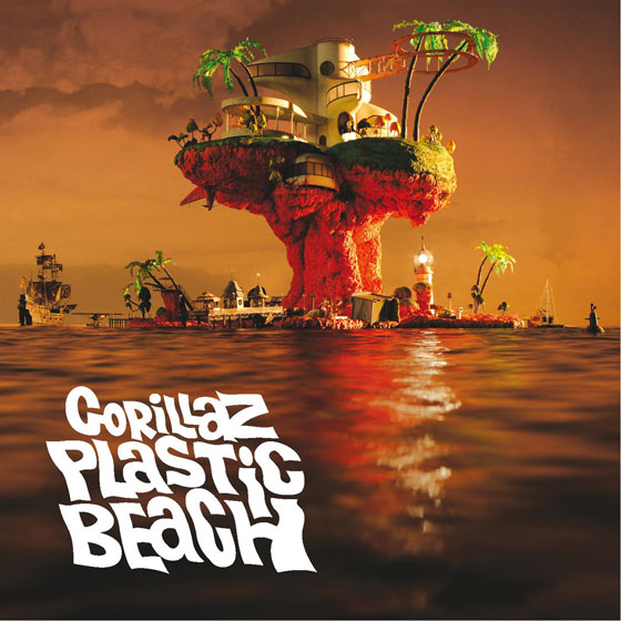 Gorillaz - Plastic Beach Album Art Cover