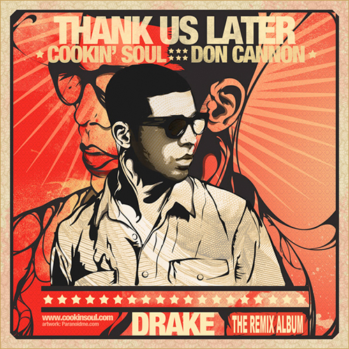 Drake - Thank Us Later (Front Cover)